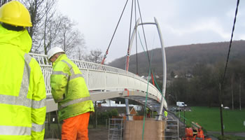 Abercarn Footbridge